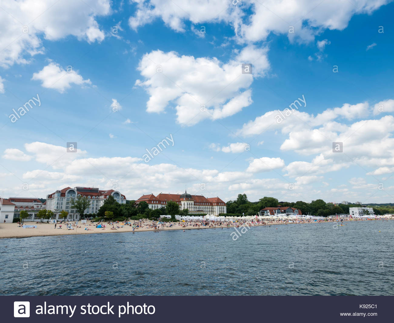 Fontanna Neptuna The Baltic Coast and Pomerania, Grand Sopot Stock Photos & Grand Sopot Stock Images - Alamy
