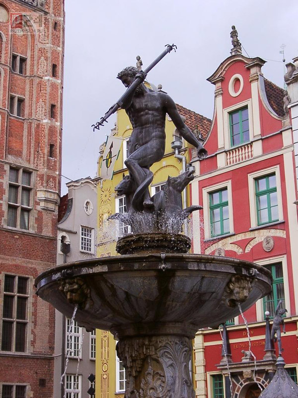 Fontanna Neptuna The Baltic Coast and Pomerania, Gdansk, Poland - Neptune I have a souvenir of this statue among my ...