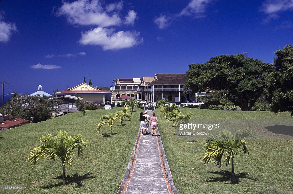 Fort Charlotte Castries, Fort Charlotte Site Morne Fortune Castries Stock Photo | Getty Images