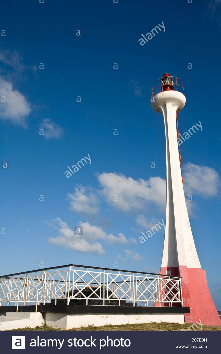 Fort George Lighthouse and Bliss Memorial Belize City, Belize, Belize City, Fort George District, Fort George Lighthouse ...