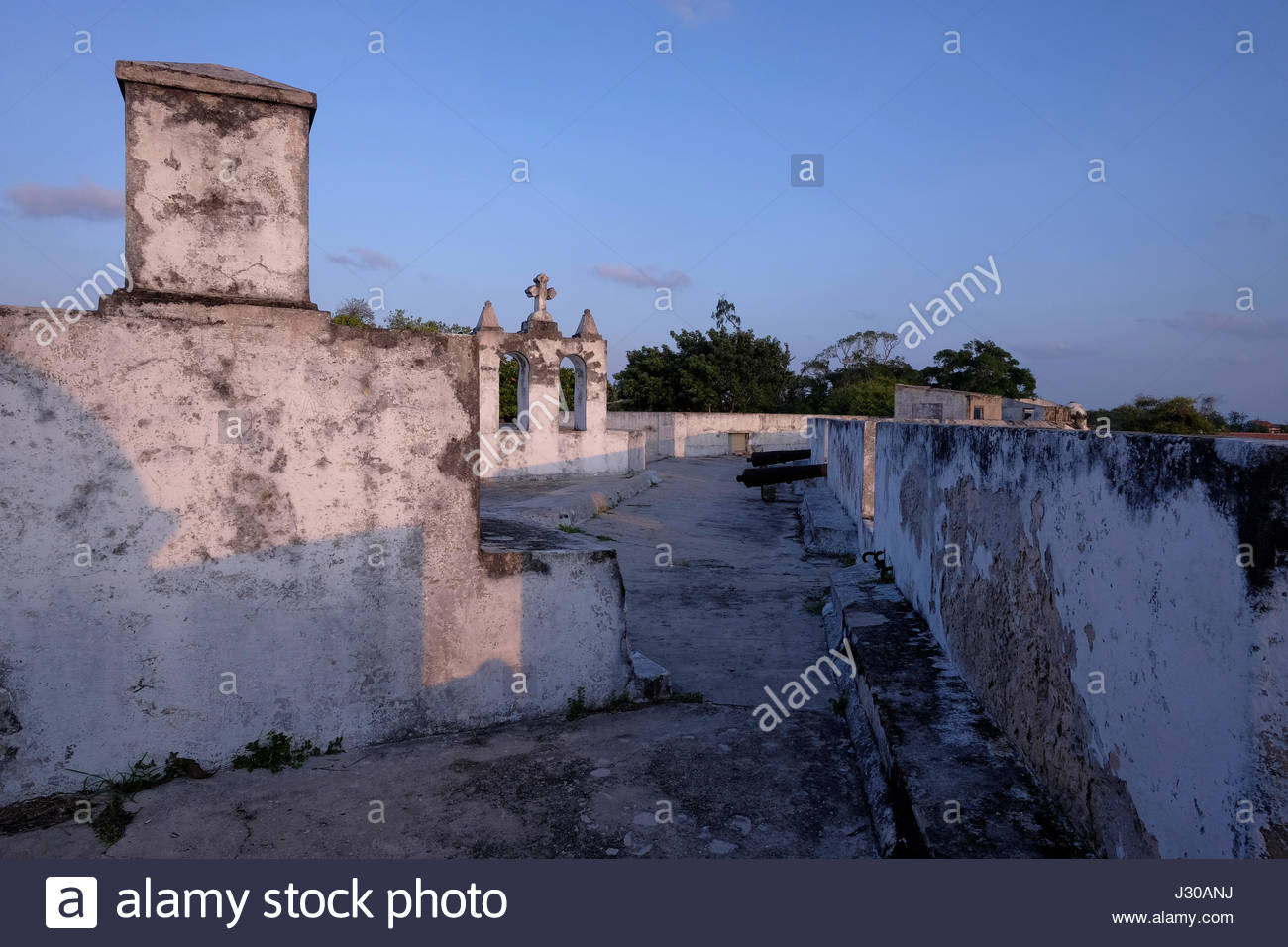 Fort of São João Baptista Ibo Island, View of the 17th century Fort of Sao Joao Batista (St. John ...