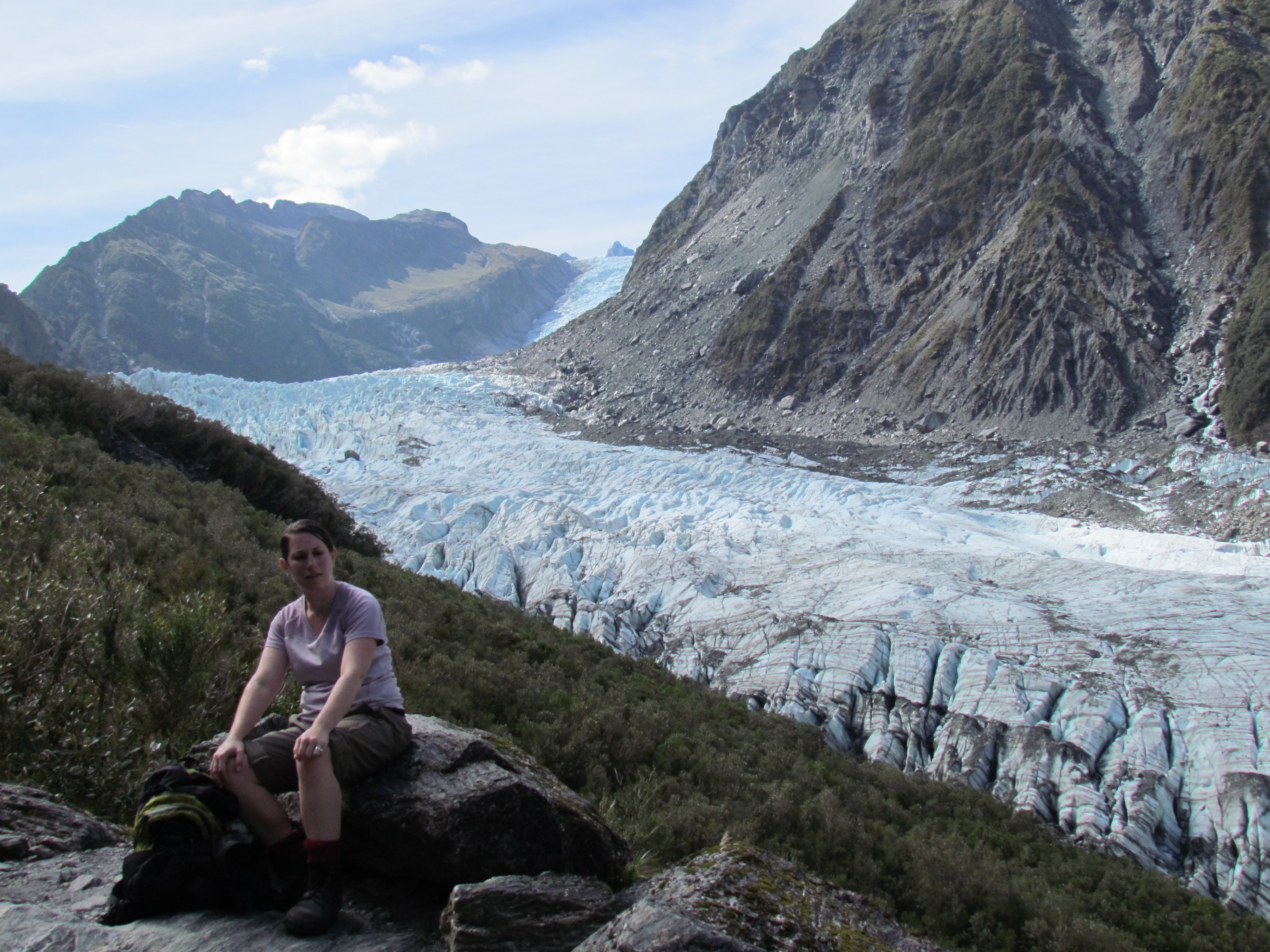 Fox Glacier Lookout Fox Glacier, Fox Glacier | Travelling Worm