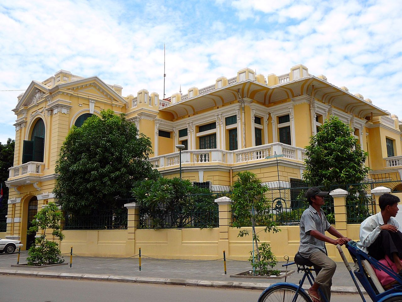 French Governor's Residence Kompong Thom, French Colonial buildings in Cambodia | 01 Nanyang Style ...