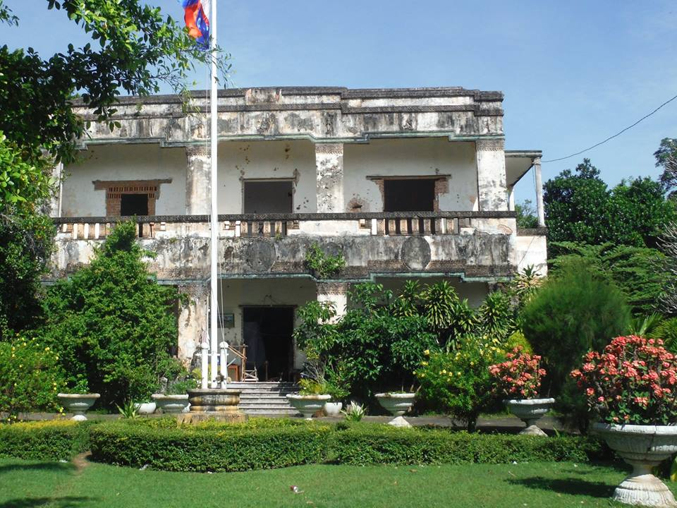 French Governor's Residence Kompong Thom, Paleriders - Cambodia | Paleriders - Cambodia. Motorbike tour ...