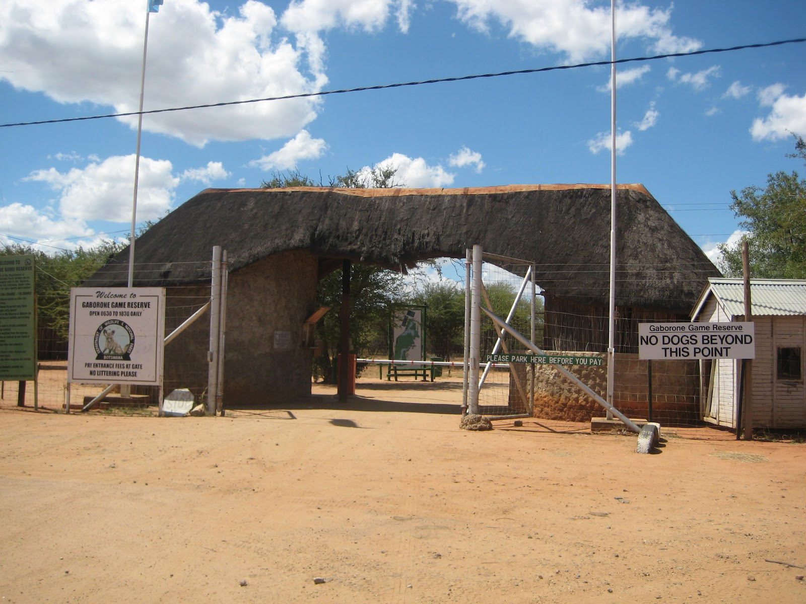 Gaborone Game Reserve Gaborone, Rands Mission: Gaborone Game Reserve
