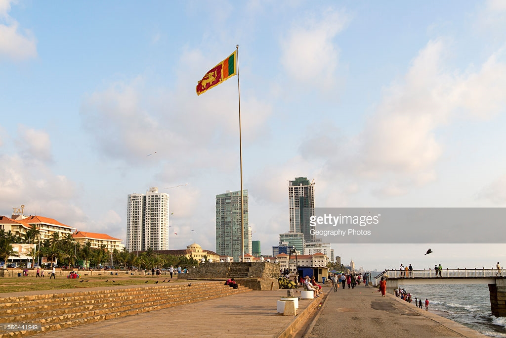 Galle Face Green Colombo, High rise buildings Galle Face Green, Colombo, Sri Lanka Pictures ...