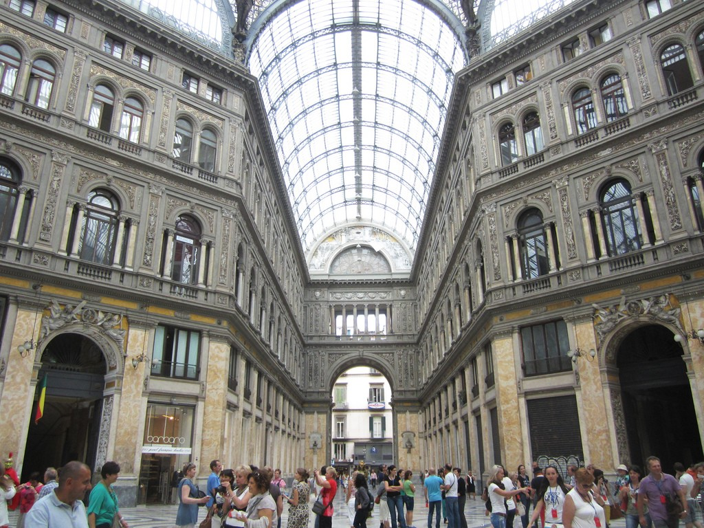 Galleria Umberto I Naples, The Glass Roofed Glory of Galleria Umberto I, Naples