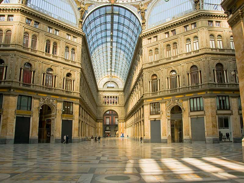 Galleria Umberto I Naples, Naples - Galleria Umberto I This is one of the most refined malls ...