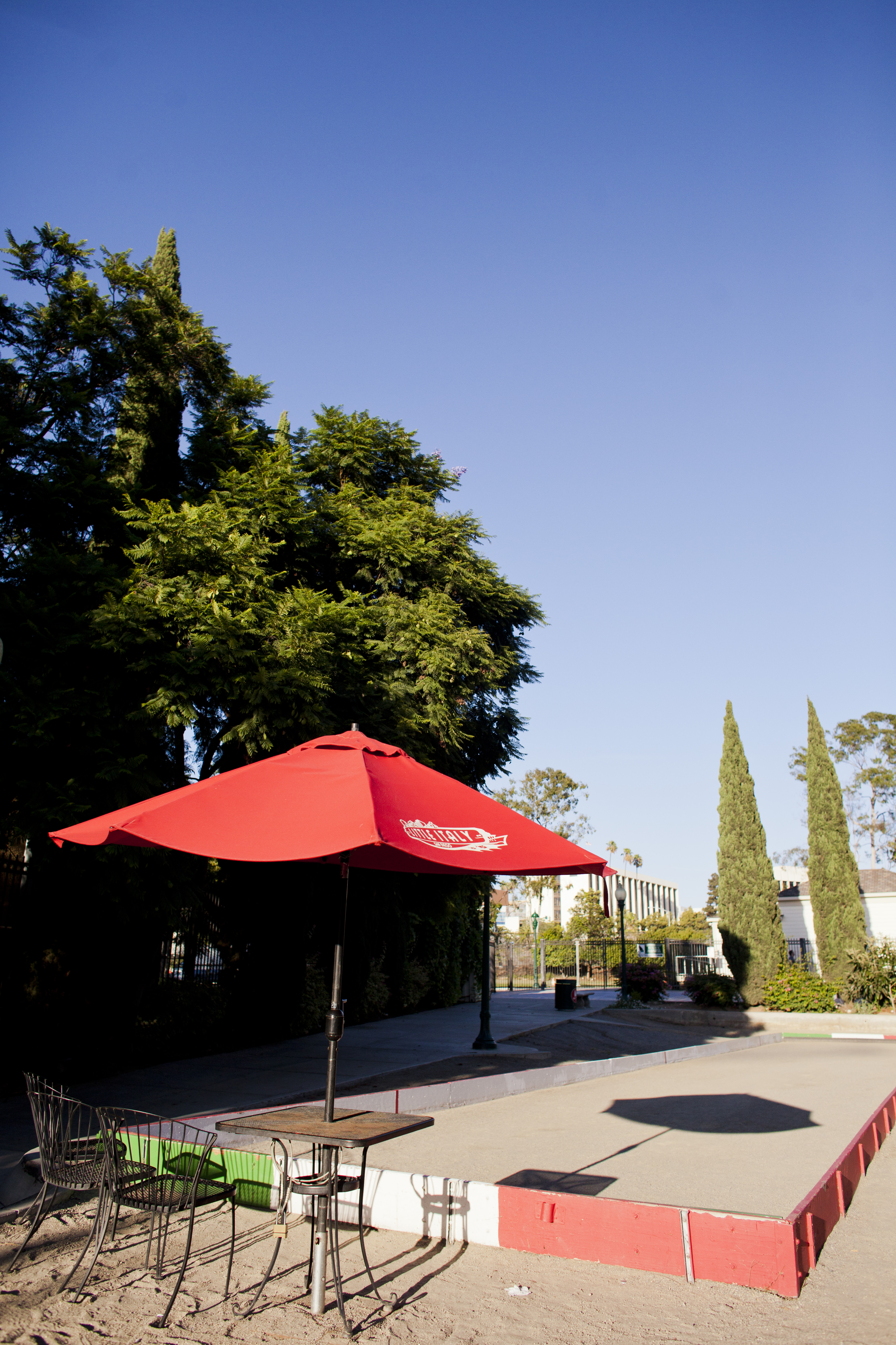 Gaslamp Museum at the Davis-Horton House San Diego, Bocce ball court in Little Italy's Amici Park | Little Italy, San ...