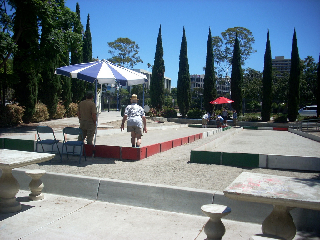 Gaslamp Museum at the Davis-Horton House San Diego, Bocce at Amici Park, Little Italy, downtown San Diego - a photo on ...