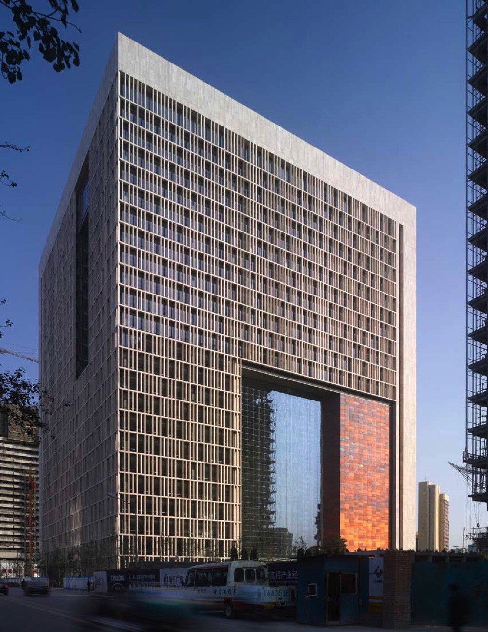 Gate of Heavenly Peace Běijīng, New Beijing Poly Plaza, Beijing, China « architecture-interior-art