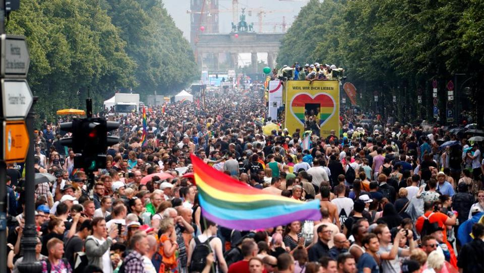 Gay Pride Berlin Berlin, In pics: Thousands dance through Berlin to promote gay and lesbian ...