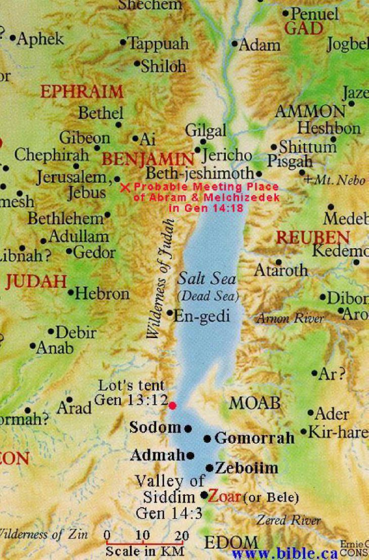 Genesis Land Around Jerusalem and the Dead Sea, Map of Dead Sea | Touring Guides in Israel | Pinterest | Dead sea ...
