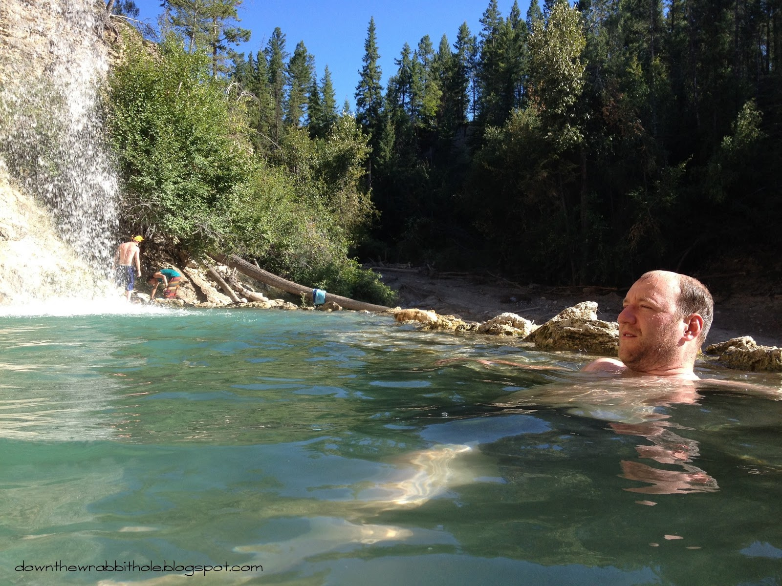 Glacier Hot Pools Upper South Island and the West Coast, Soak in a True Natural Hot Spring in the Canadian Rockies