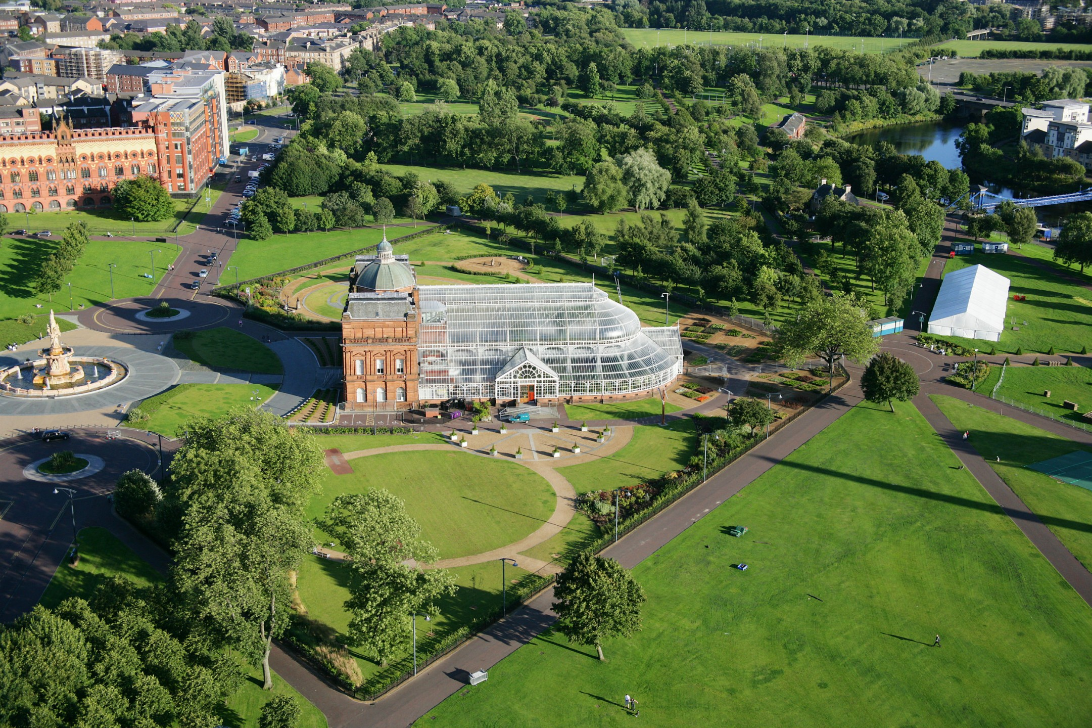 Glasgow Green Glasgow, New music festival 'May West' to be staged on Glasgow Green