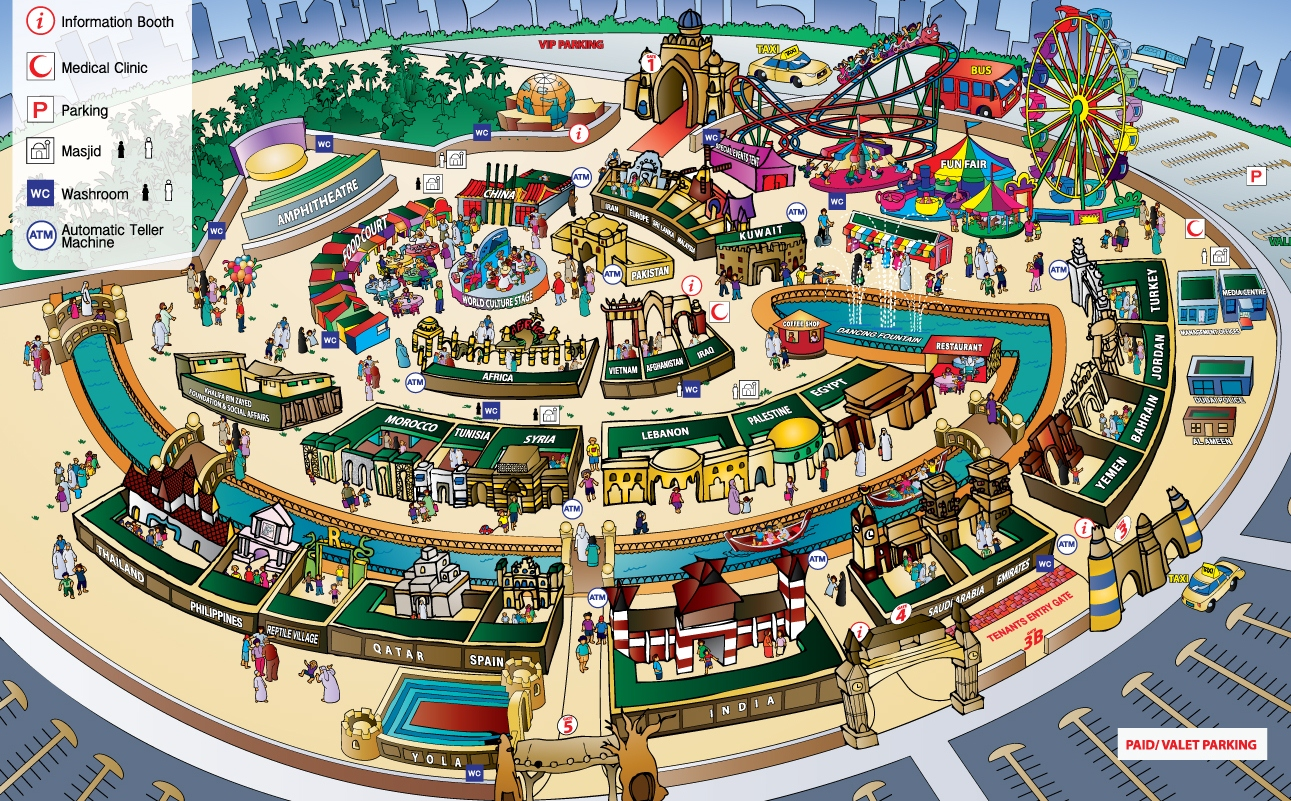 Global Village Dubai, Dubai Global Village:- Duration of this is generally from Oct ...