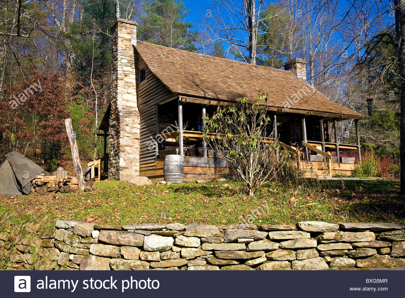 viewed range long vrbo misty fireplace deck back from cabins this secluded cozy s grandfather cabin mountain views