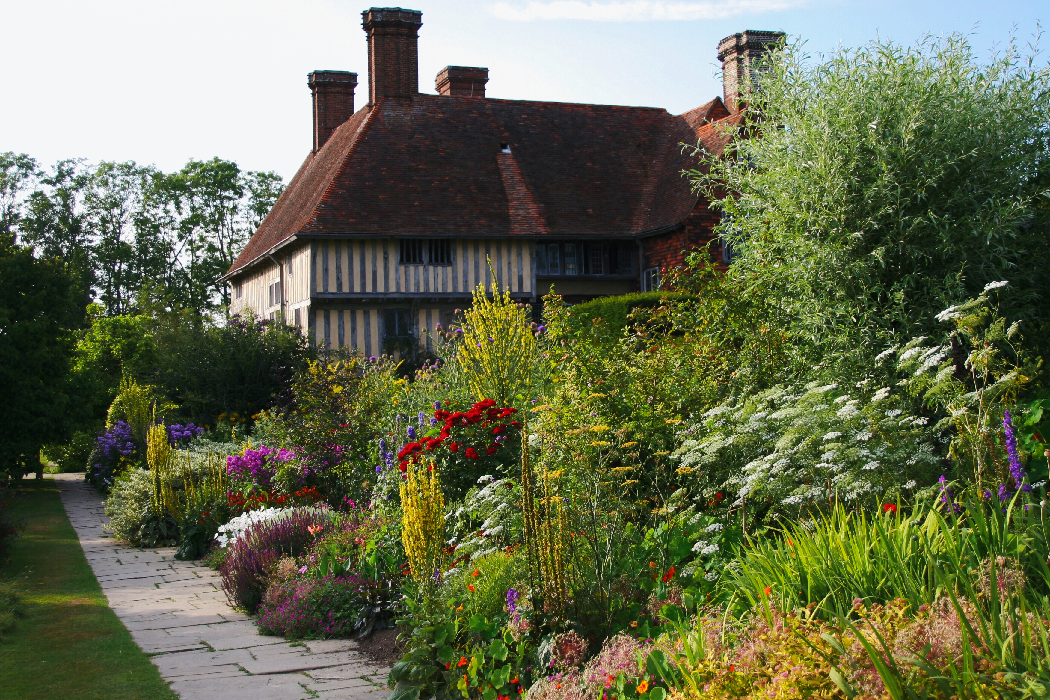 Great Dixter House and Gardens The Southeast, sat4travel – A Yankee Discovers London & Beyond