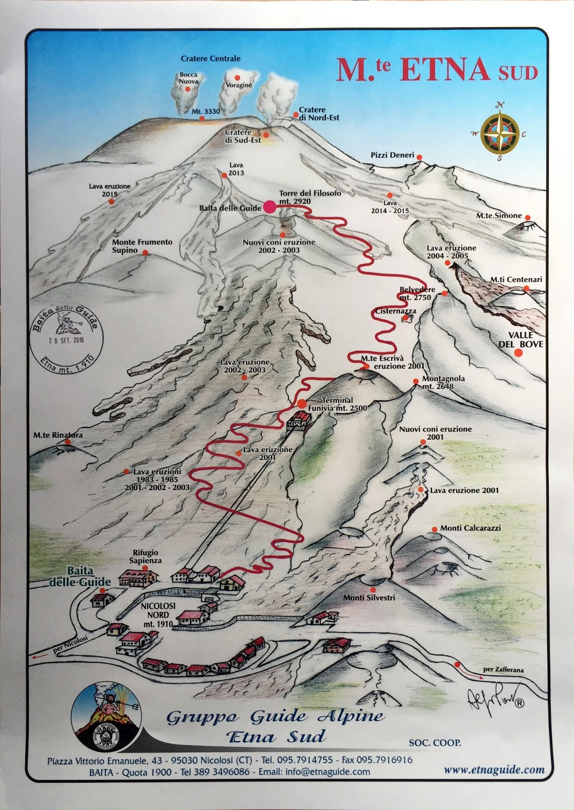 Gruppo Guide Etna Nord Sicily, TravelMarx: The Mount Etna Summit Hike from Rifugio Sapienza