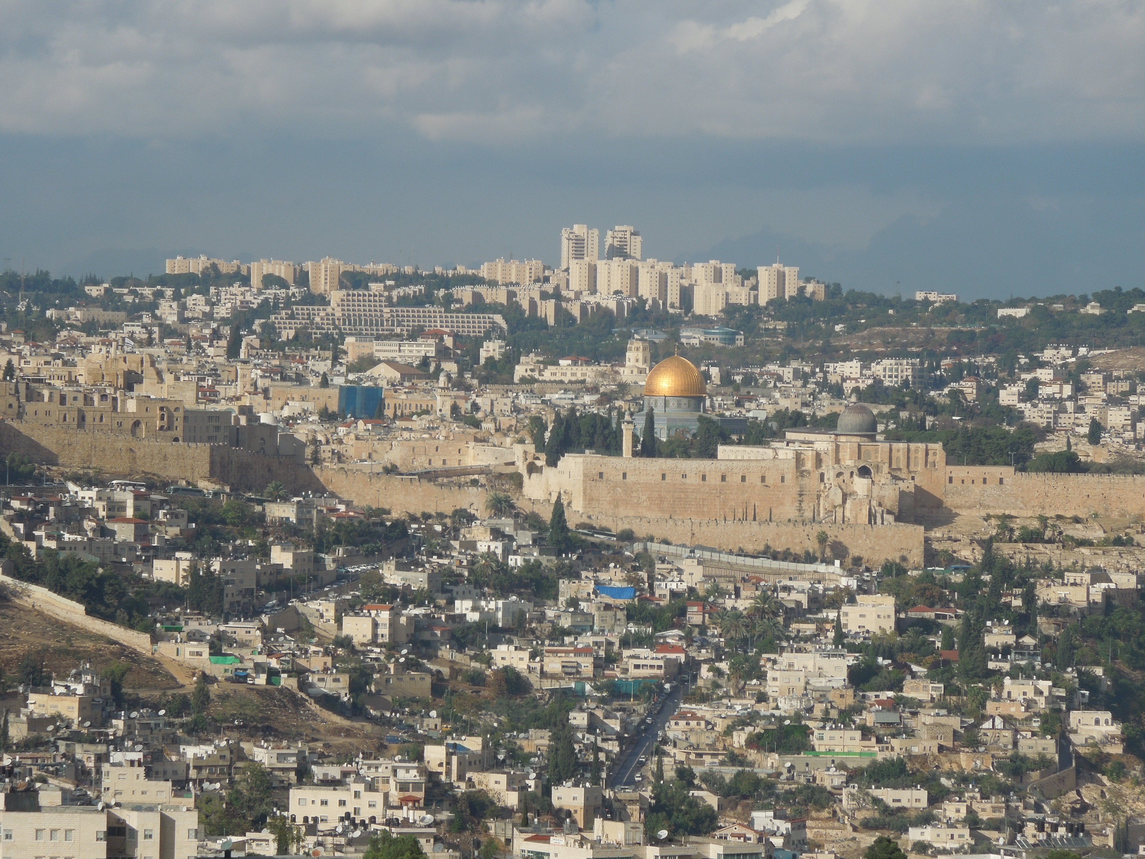 Haas Promenade Jerusalem, A trip to Israel: Golf is limited, but there is plenty of passion ...