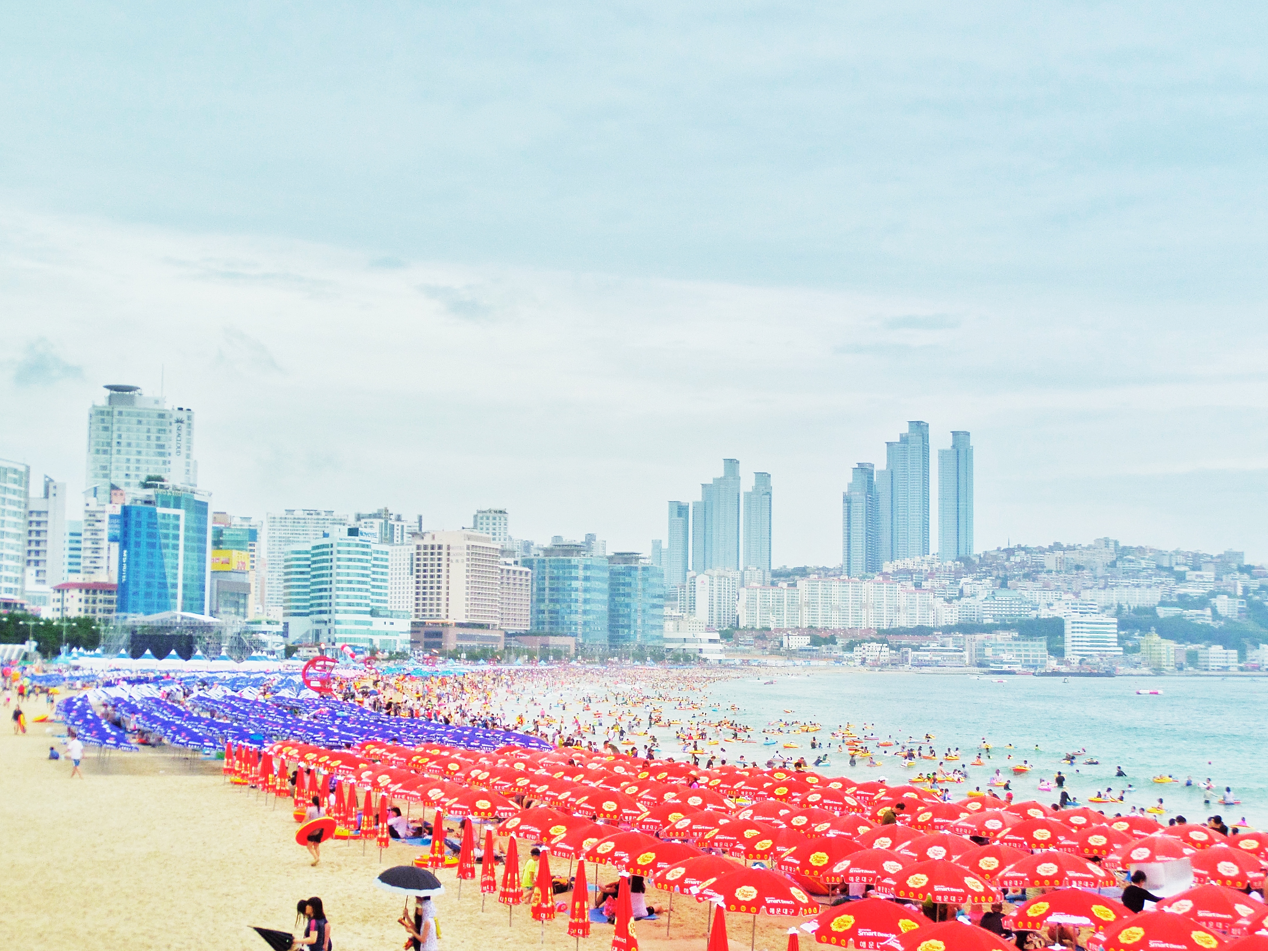 Haeundae Beach Busan, Busan Haeundae Beach | South Korea Adventure | BiiBiiBap