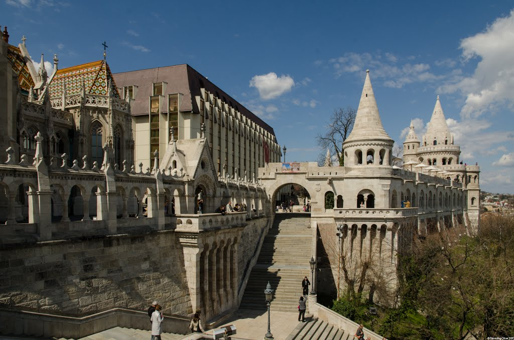 Halászbástya Budapest, Panoramio - Photo of Fisherman's Bastion - Halászbástya, Castle ...