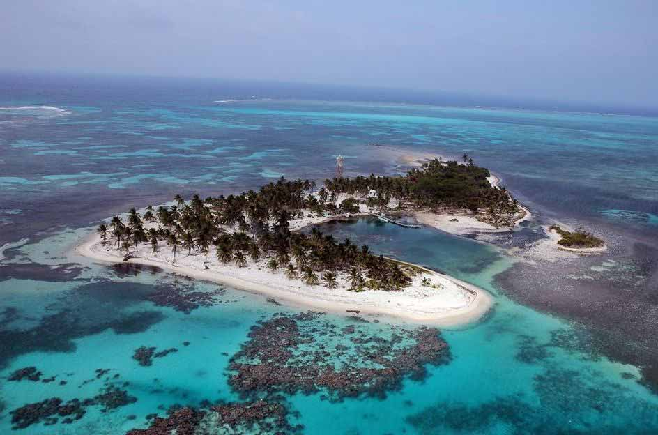 Half Moon Caye National Monument The Cayes and Atolls, Lighthouse Reef Atoll, Great Blue Hole Pics, Video - Ambergris ...