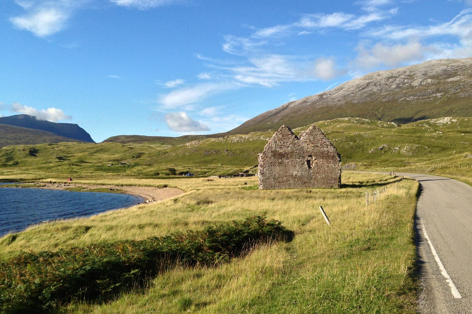 Black House The Northern Highlands and the Western Isles, Skye, Outer Hebrides & NW Highlands | Macs Adventure
