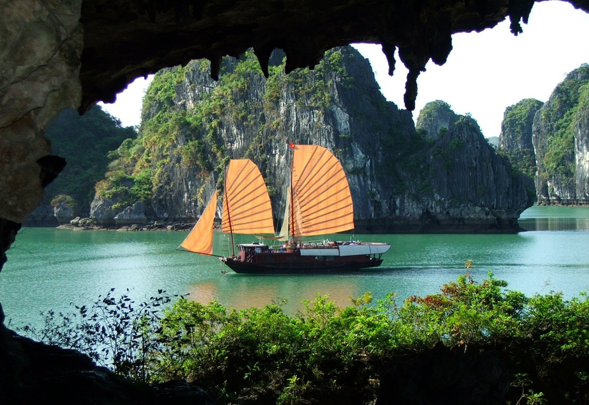 Hang Trong Halong Bay, Unique cave system in Halong Bay