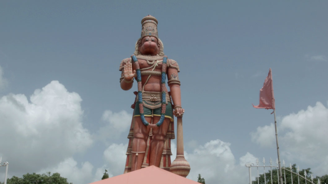 Hanuman Murti and Sri Dattatreya Ashram West Coast, Sri Dattatreya Yoga Center 85 foot Lord Hanuman, Trinidad and ...