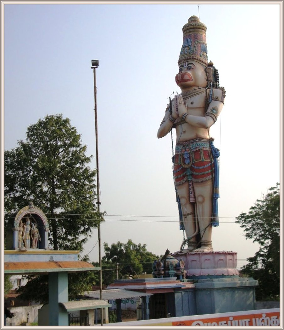 Hanuman Murti and Sri Dattatreya Ashram West Coast, 85 feet Hanuman statue at Dattatreya Temple Compound, Carapichaima ...