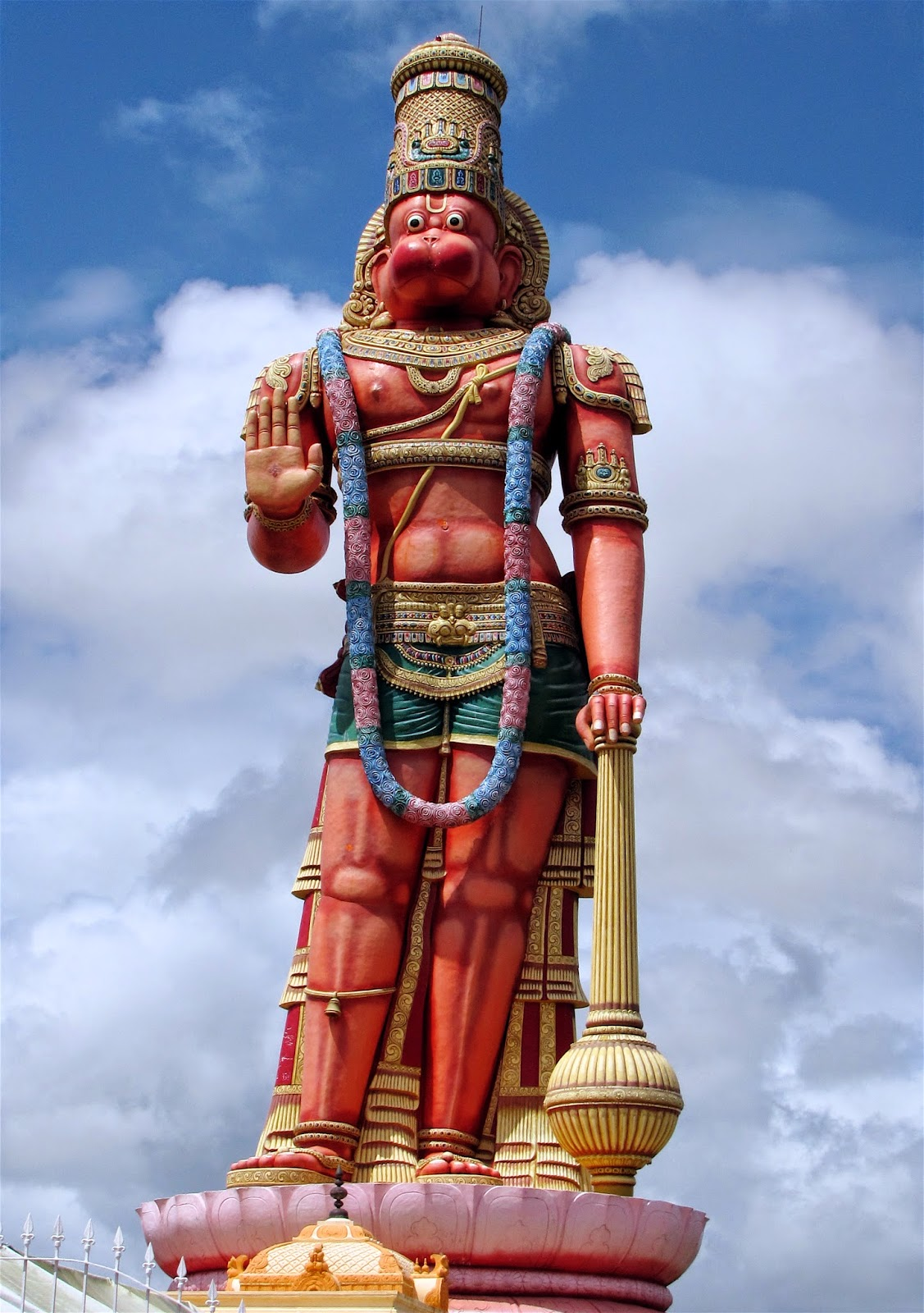 Hanuman Murti and Sri Dattatreya Ashram West Coast, Giant Hanuman sculpture, Trinidad | HANUMANTHA | Pinterest ...