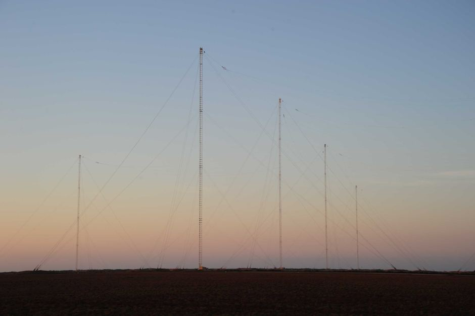 Harold E Holt Naval Communication Station Around Exmouth, Harold E Holt Naval Communication Station in Exmouth, WA - ABC ...