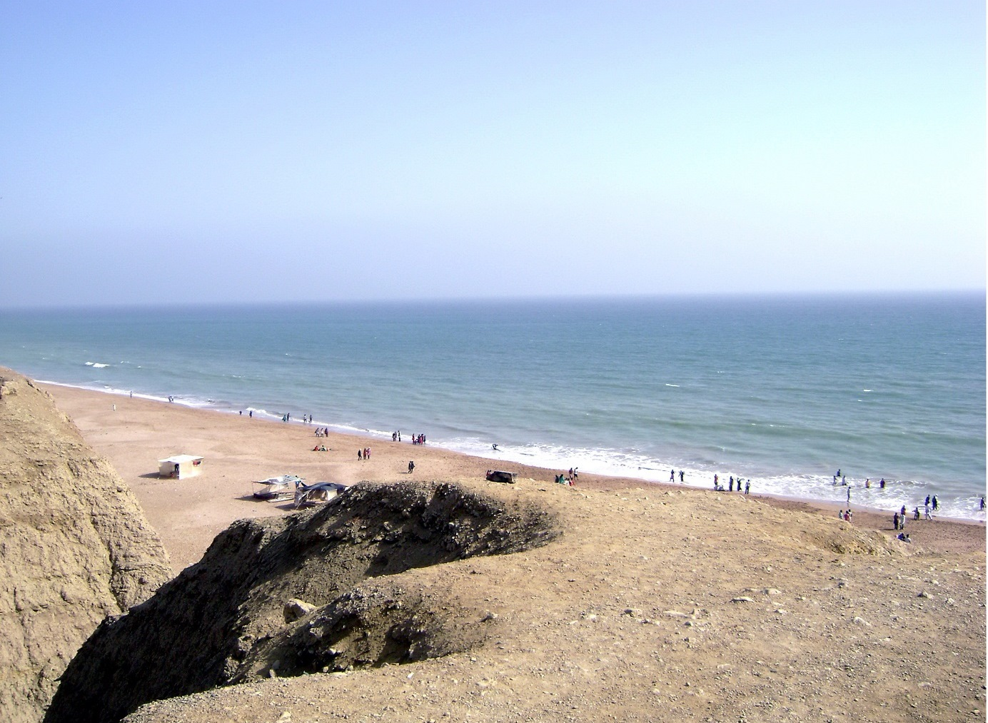 Hawkes Bay Karachi, A Beautiful View of Hawks Bay Karachi Pakistan