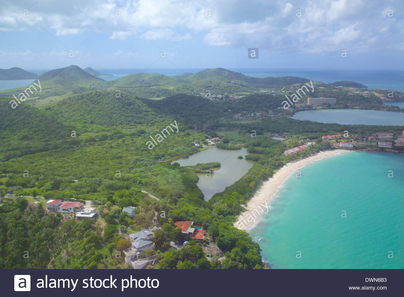 Mary's Point Leeward Islands, Five Islands Stock Photos & Five Islands Stock Images - Alamy