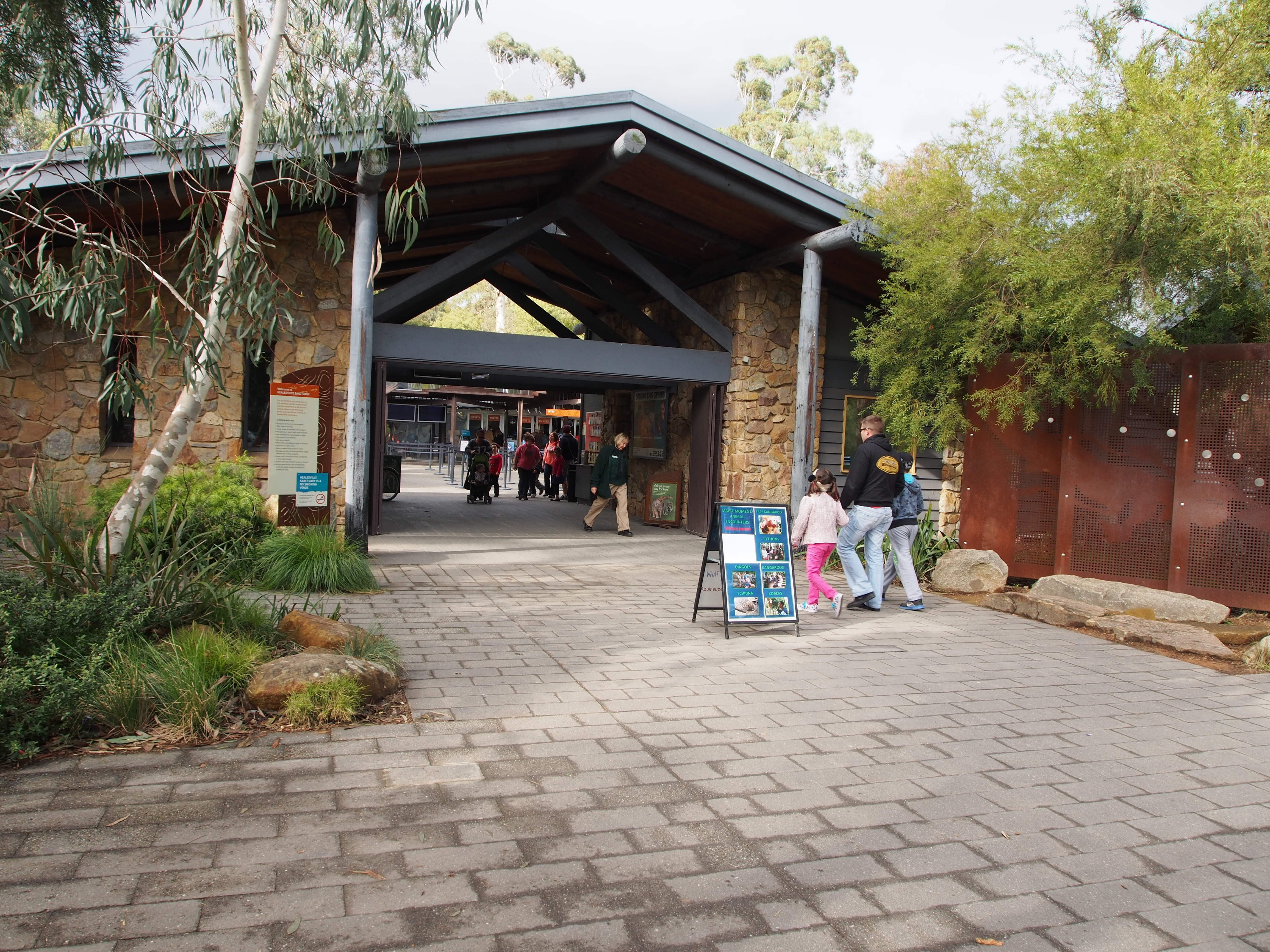 Healesville Sanctuary Healesville, Healesville Sanctuary - Melbourne - by Lorraine A