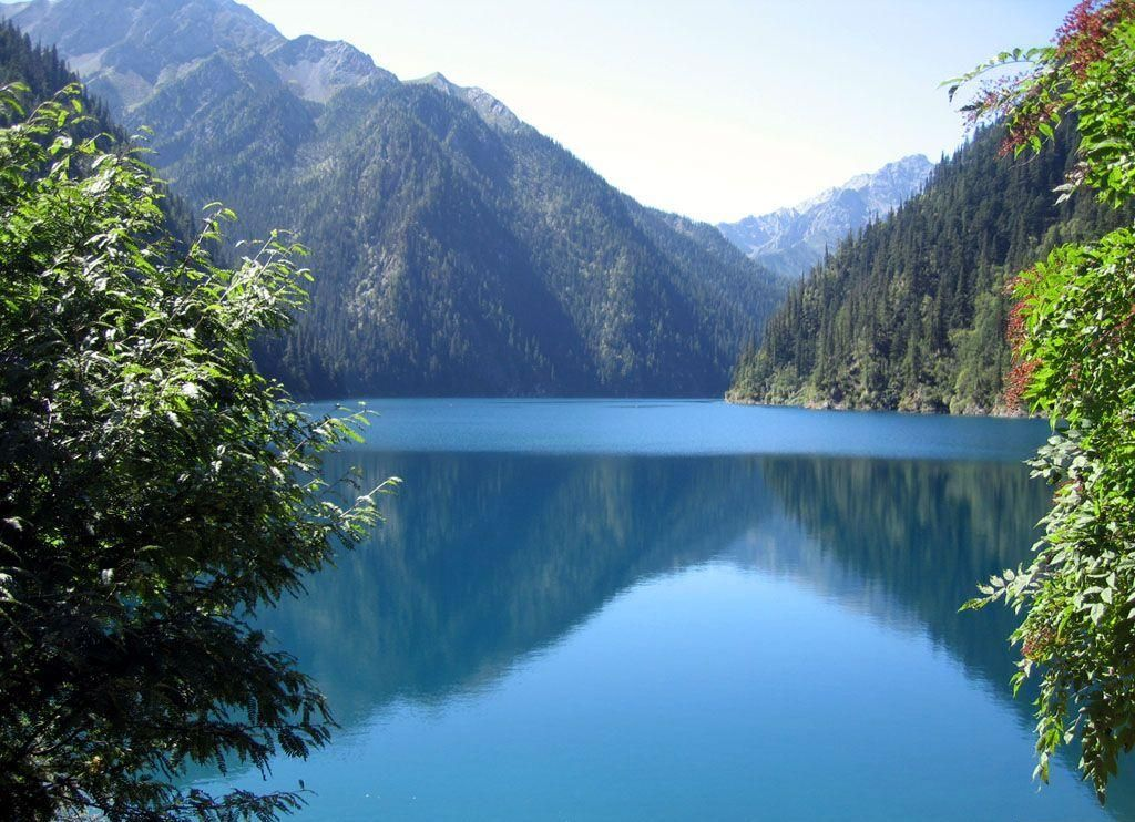 Heavenly Lake The Silk Road, Chinese scenery | China Travel, Cheap China flights, hotels