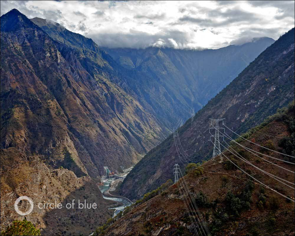Heavenly Lake The Silk Road, Surge of New Dams in Southwest China Produces Power and Public Ire ...