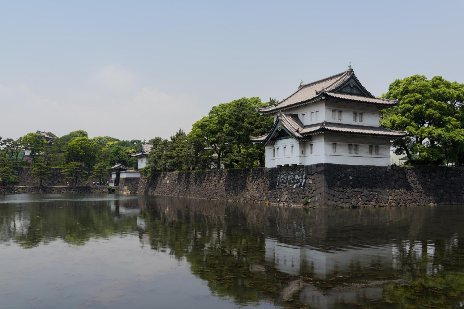 Heiseikan Tokyo, The Imperial Palace Area with many remains of Edo Castle ...
