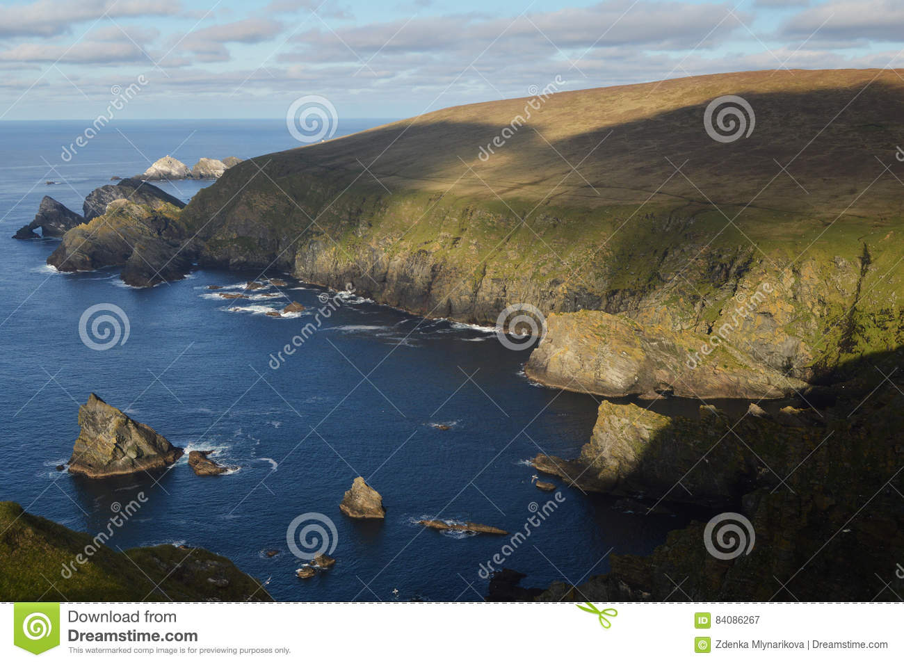 Hermaness Nature Reserve Unst, Hermaness Nature Reserve On Unst, Most Northerly Shetland Island ...