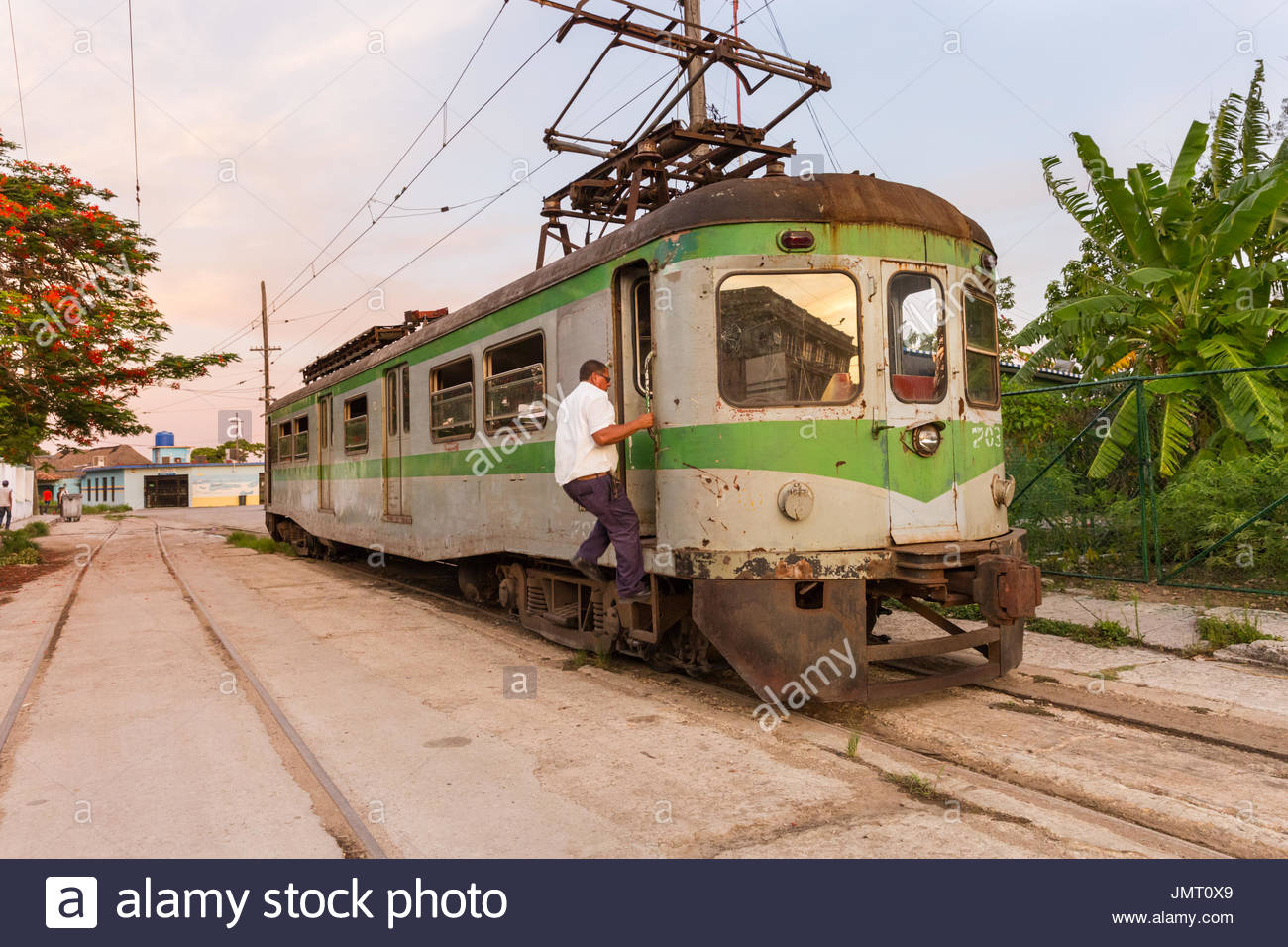 Hershey Railway Western Cuba, Cuba Station Havana Train Stock Photos & Cuba Station Havana Train ...