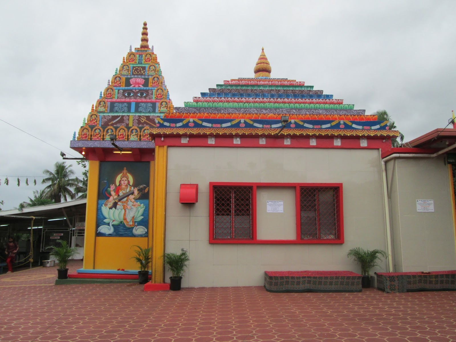 Hindu Temple Belize City, Insider/Outsider reflections: Fire Pooja at a Fijian Hindu Temple