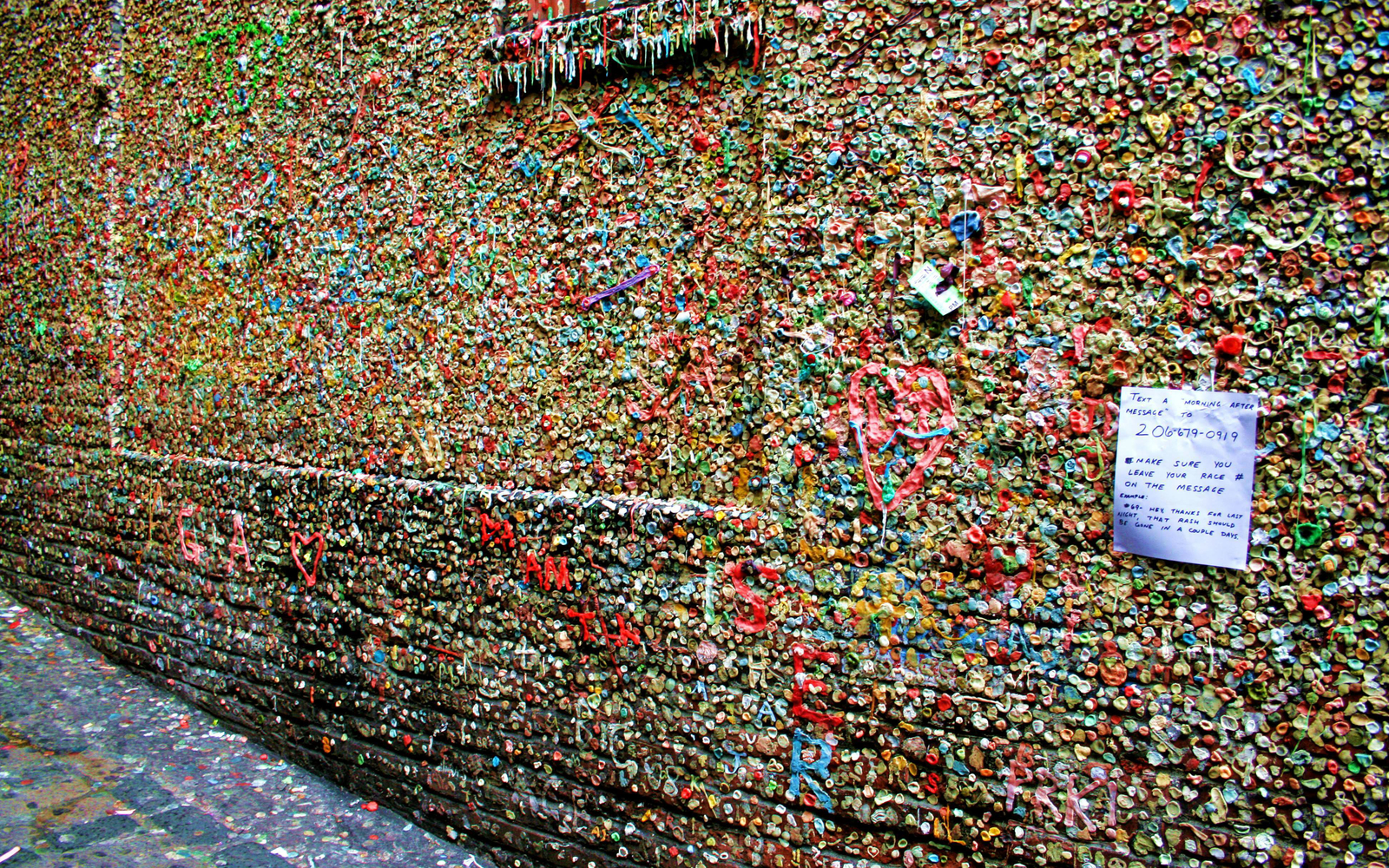 Hiram M Chittenden Locks Visitor Center Seattle, The Seattle Gum Wall Gets a Cleaning | Travel + Leisure
