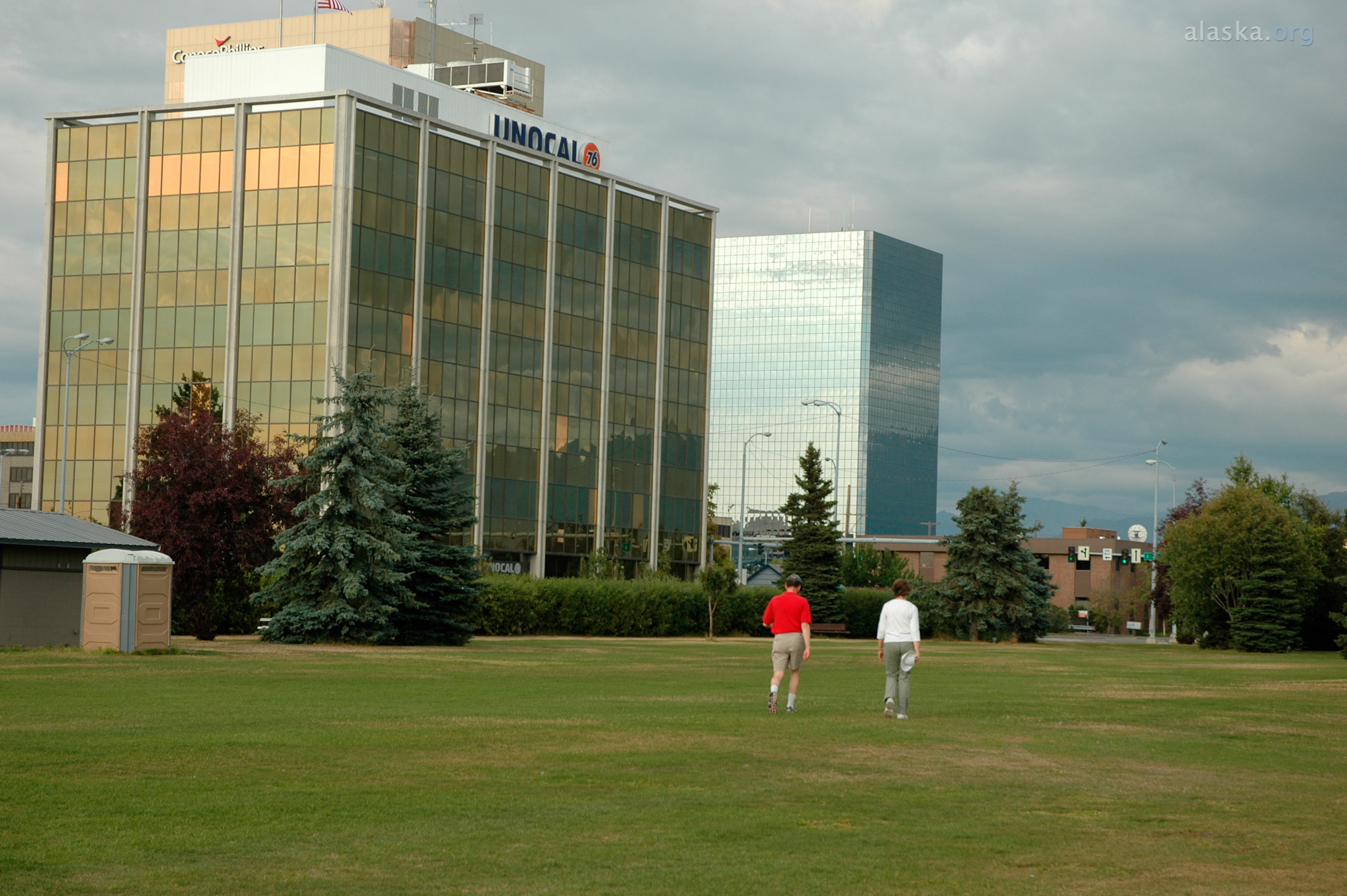 Historic City Hall Anchorage, Delaney Park Strip | Relax and play in downtown Anchorage