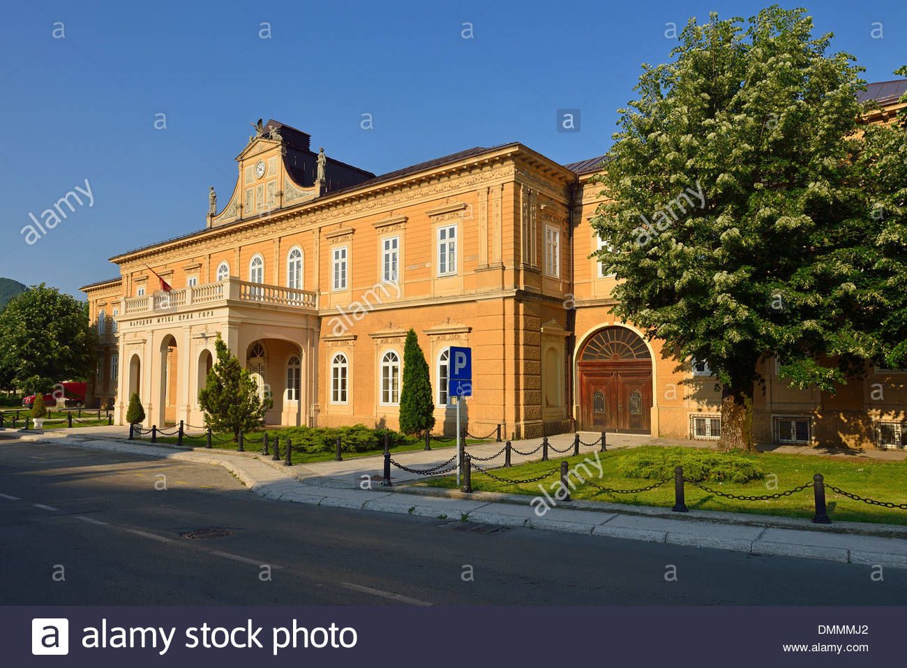 History Museum Cetinje, Montenegro, Crna, Gora, historic former Government Building, now ...