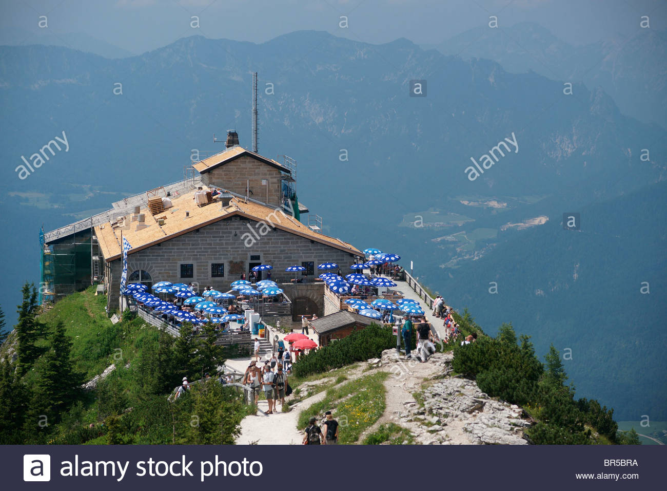 Hitler's Bunkers The Bavarian Alps, Views from Adolf Hilter mountain top home in the Bavarian Alps ...