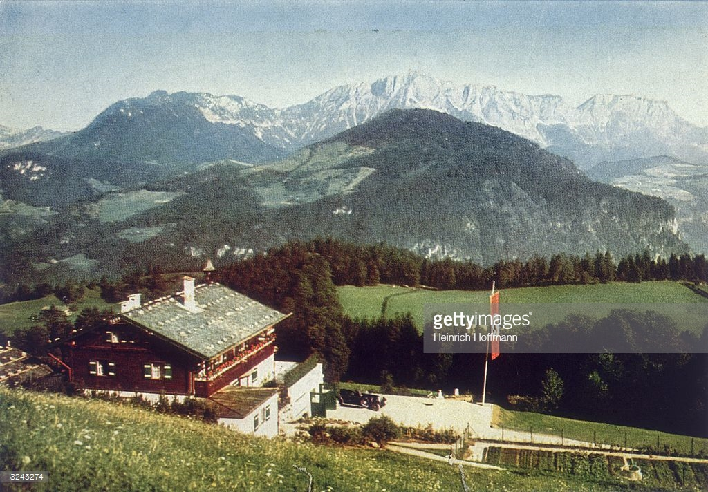 Hitler's Bunkers The Bavarian Alps, Berghof Pictures | Getty Images