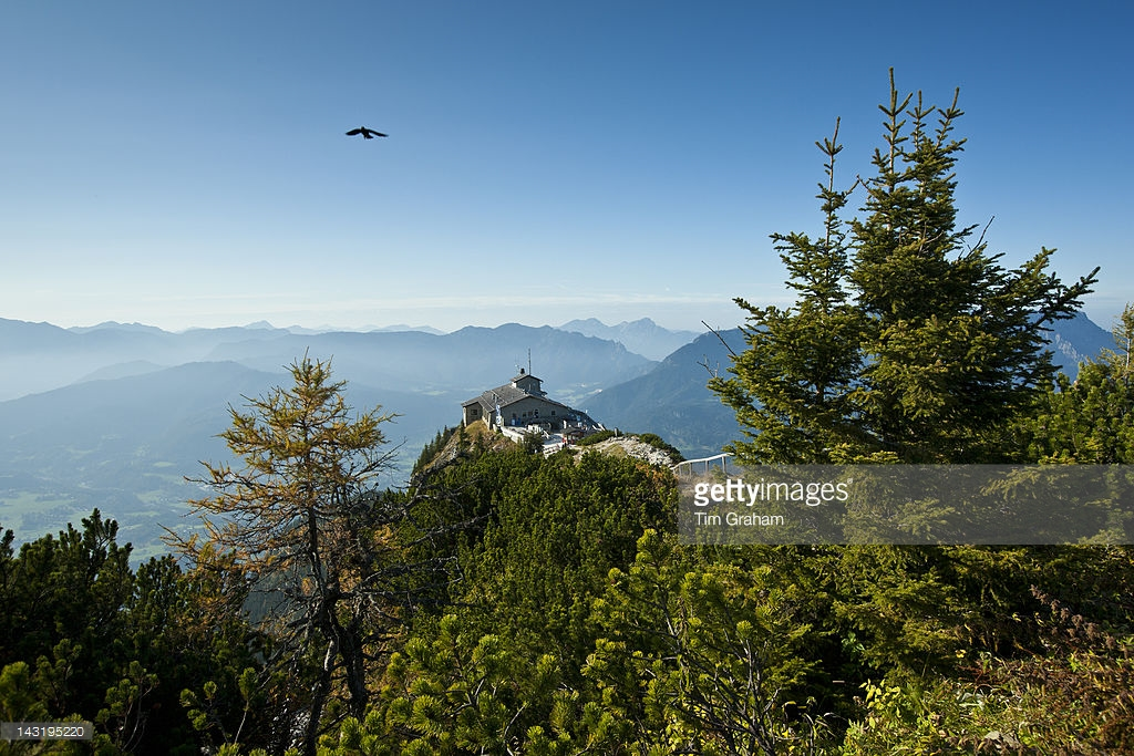 Hitler's Bunkers The Bavarian Alps, Hitler's Eagle's Nest in Bavaria, Germany Pictures | Getty Images