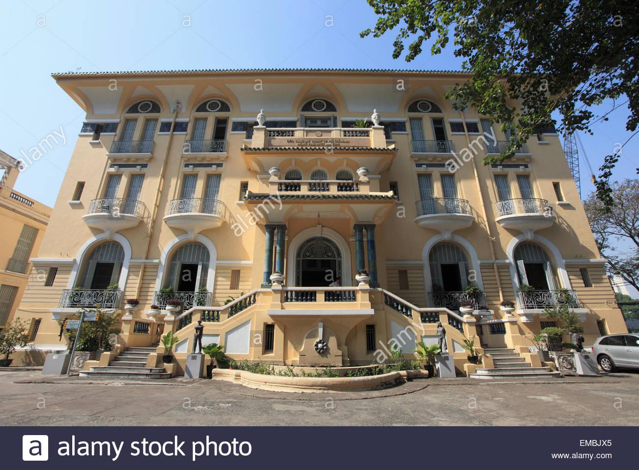 Ho Chi Minh City Fine Arts Museum Ho Chi Minh City, Vietnam, Ho Chi Minh City, Saigon, Fine Arts Museum Stock Photo ...