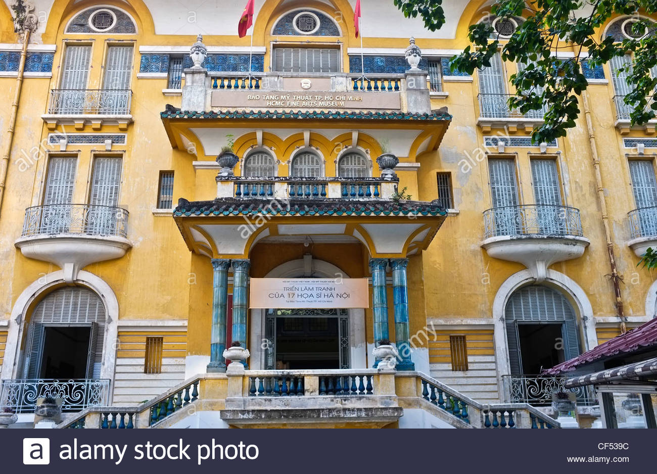 Ho Chi Minh City Fine Arts Museum Ho Chi Minh City, Fine Arts Museum, Ho Chi Minh City, Vietnam Stock Photo, Royalty ...